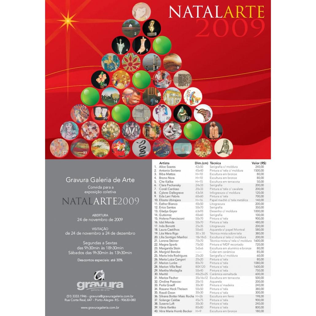 Natal Arte 2009 Gravura Galeria